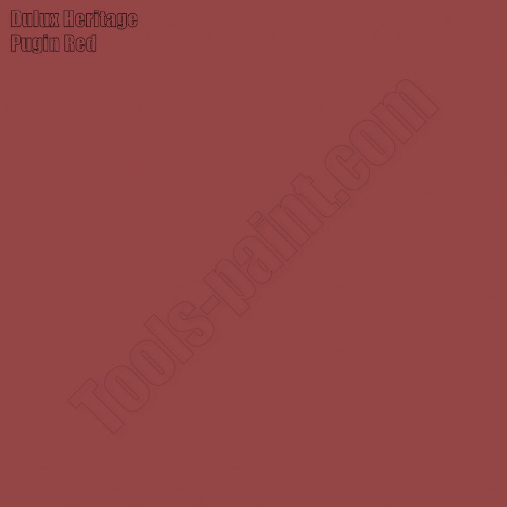 Dulux Heritage Pugin Red